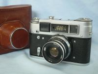 '  4 ' Fed 4 F192 Vintage Rangefinder Camera Cased c/w 53mm Lens £24.99